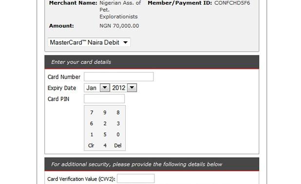 NAPE Online Payments