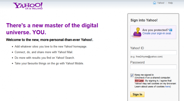 Sign in to yahoo 1355242012115